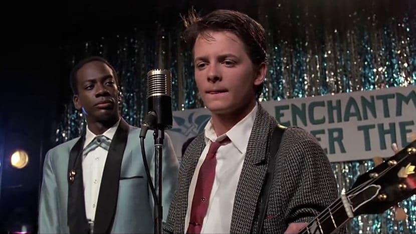 Chuck Berry - Johnny B. Goode - Michael J Fox