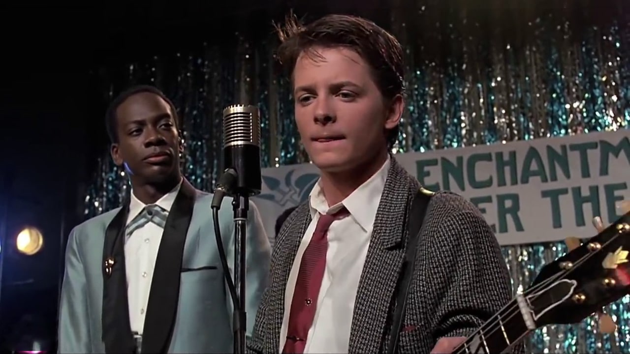 Chuck Berry - Johnny B. Goode - Michael J Fox