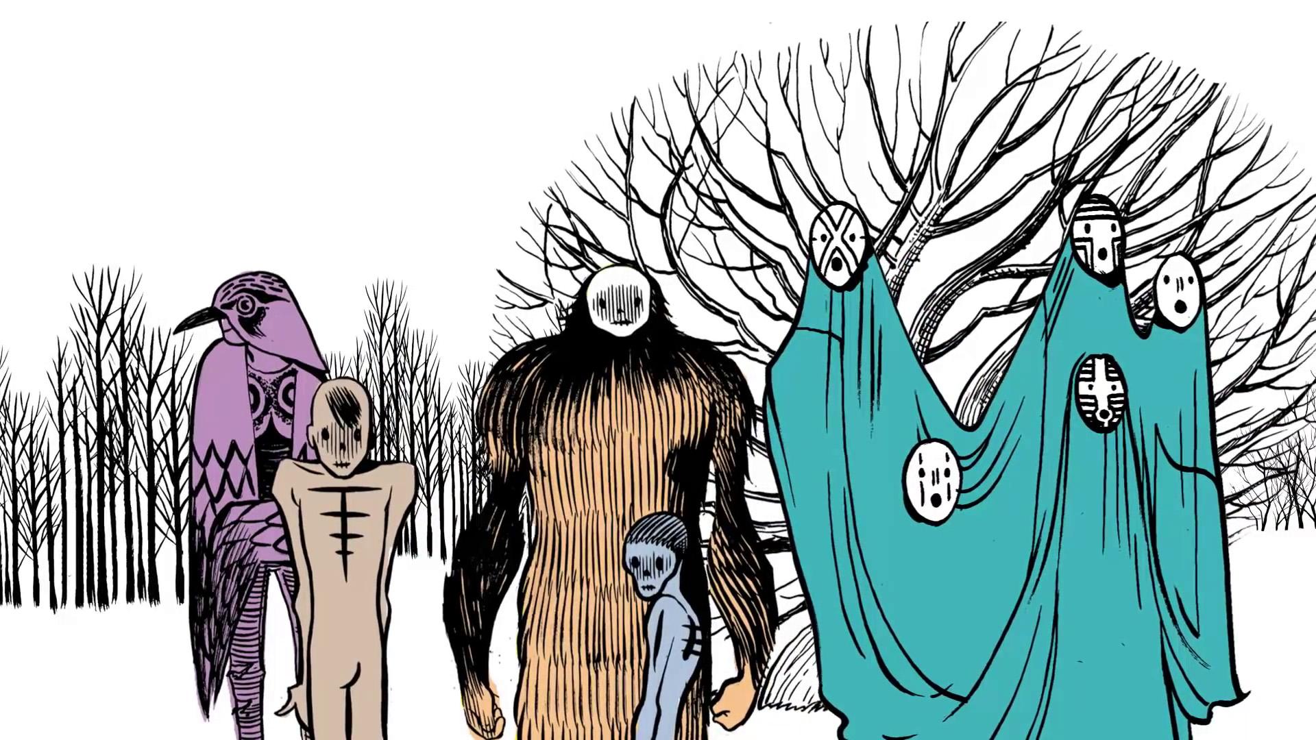 Tre Allegri Ragazzi Morti - Di Che Cosa Parla Veramente Una Canzone - Nel Giardino Dei Fantasmi