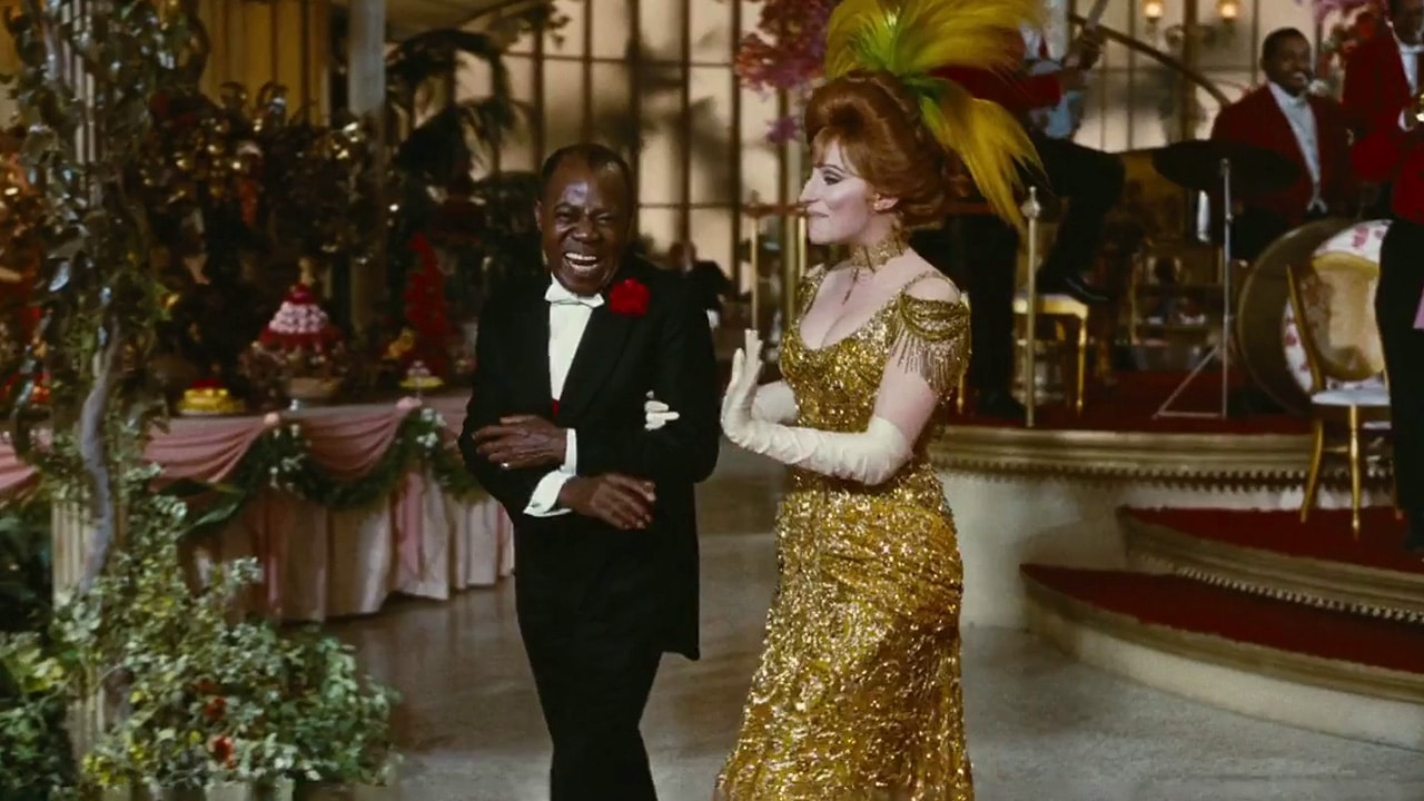 Louis Armstrong - Hello Dolly - Barbra Streisand