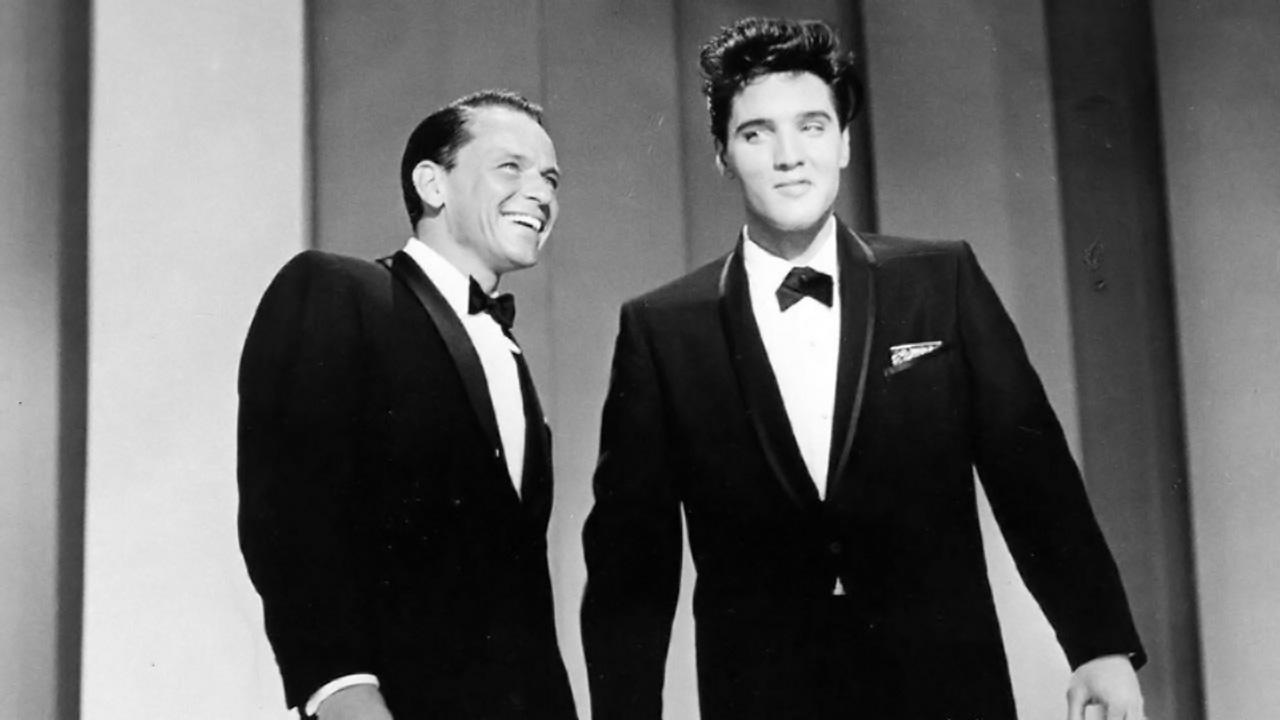 Elvis Presley - Stuck On You - Frank Sinatra